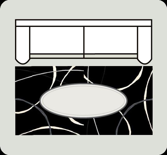Area Furniture Stores: Designer Tips: How To Arrange An Area Rug