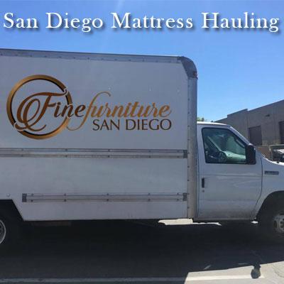 San Diego Mattress Disposal Truck