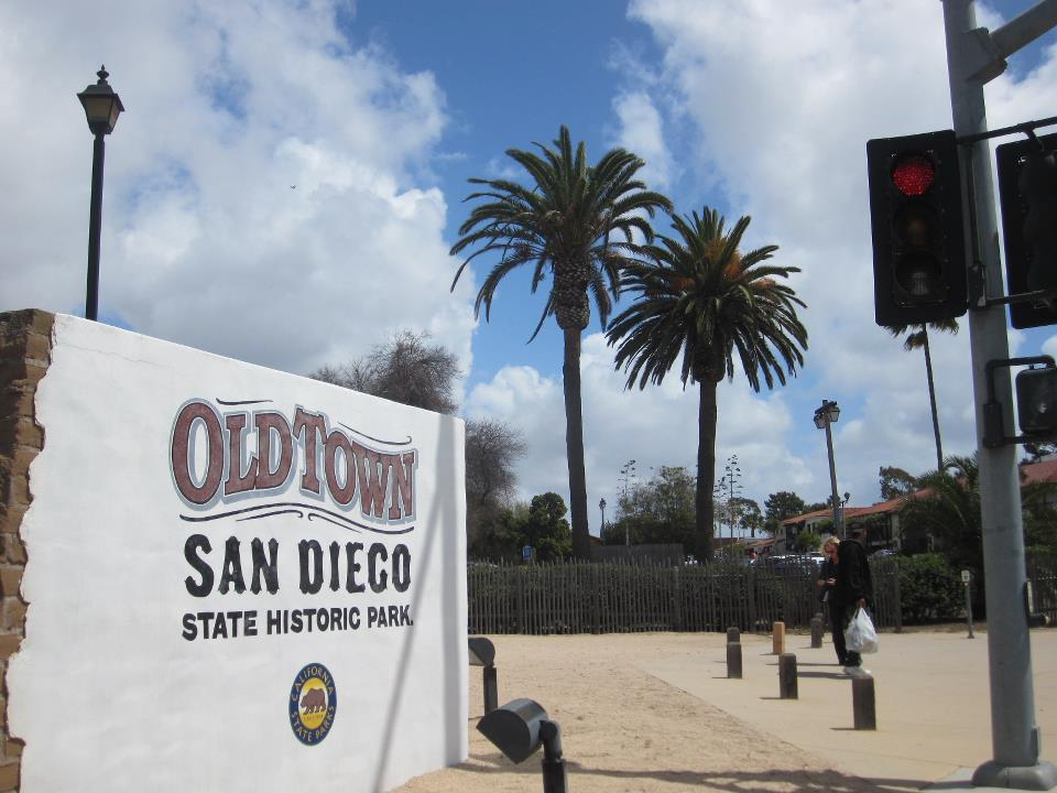 Old Town San Diego Entrance Sign