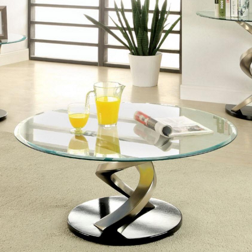 Nova Coffee Table with Twisting Legs