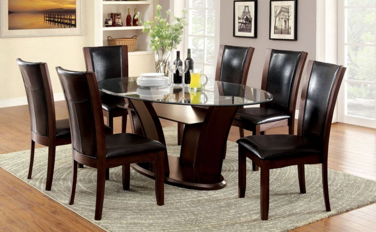 Manhattan Oval Dining Table - 72 oval dining table