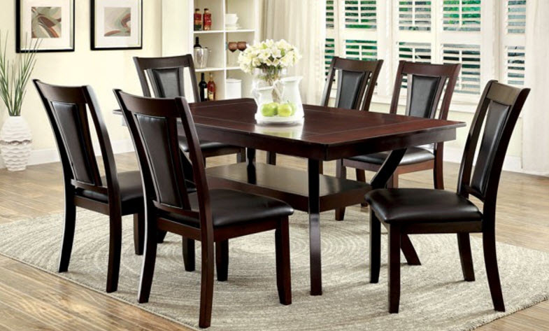 Brent Dark Cherry Dining Table