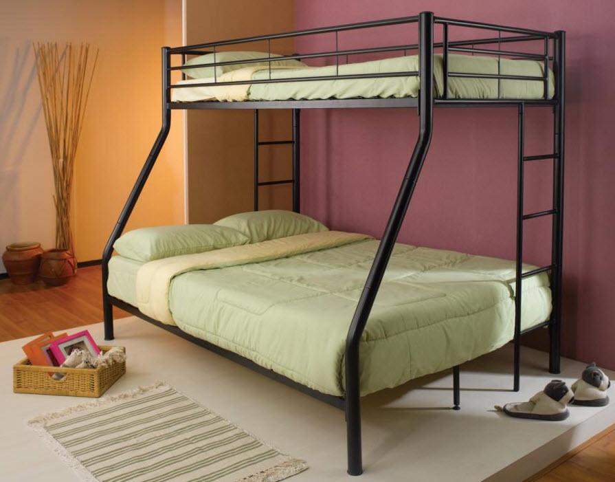 Black T/F Bunk Bed