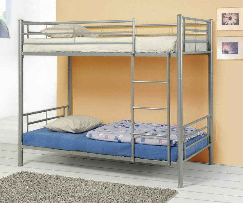 Silver T/T Bunk Bed