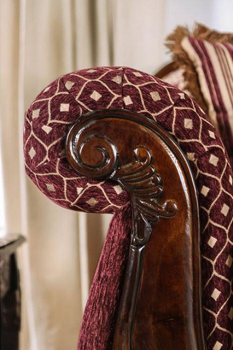Burgundy Detail