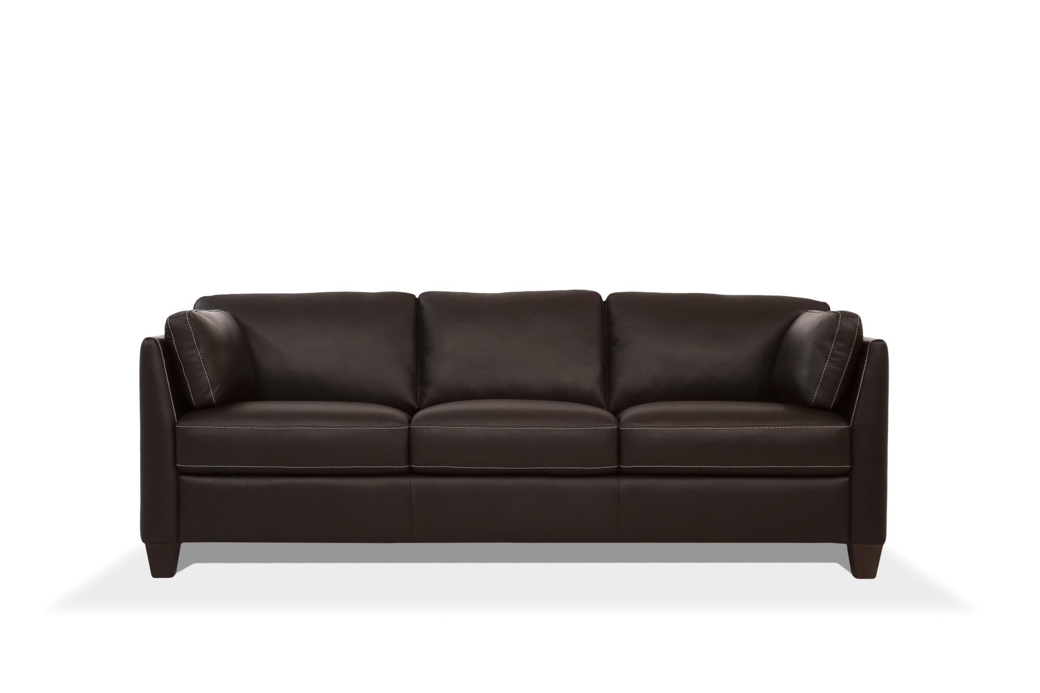 Chocolate Sofa Front