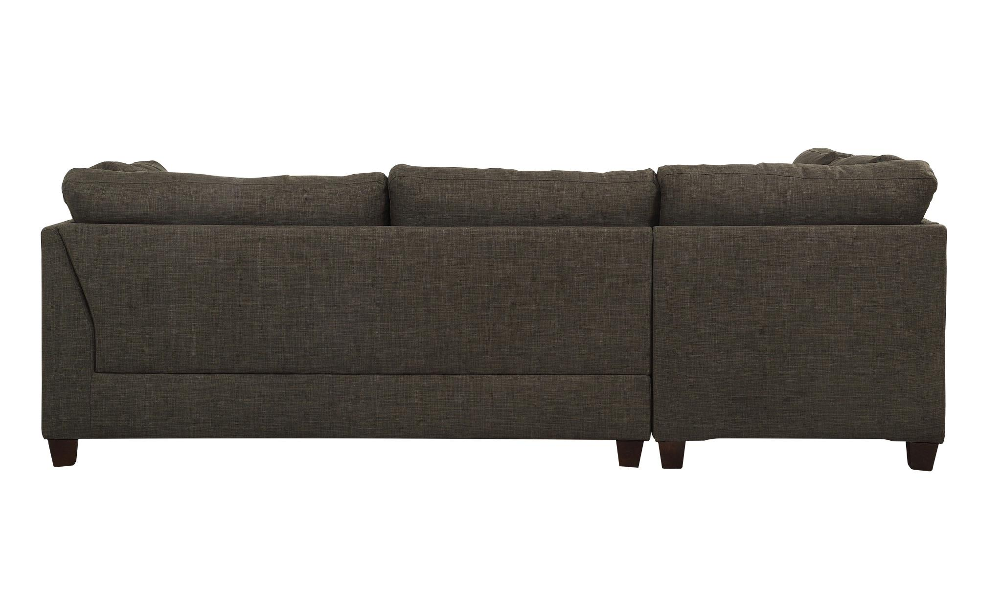 Sectional Sofa w/ Left Facing Chaise Back