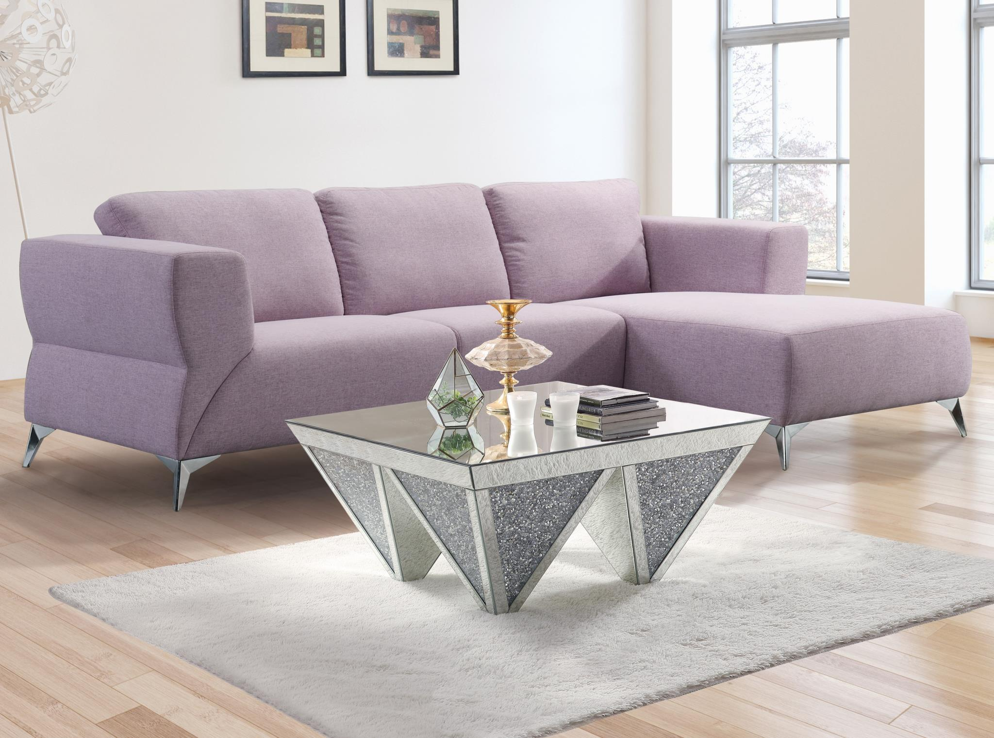 Pale Berries Complete Sectional Sofa