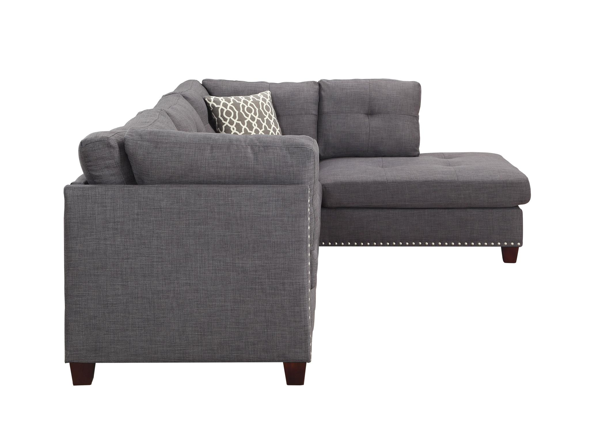 Sectional Sofa w/ Right Facing Chaise Side
