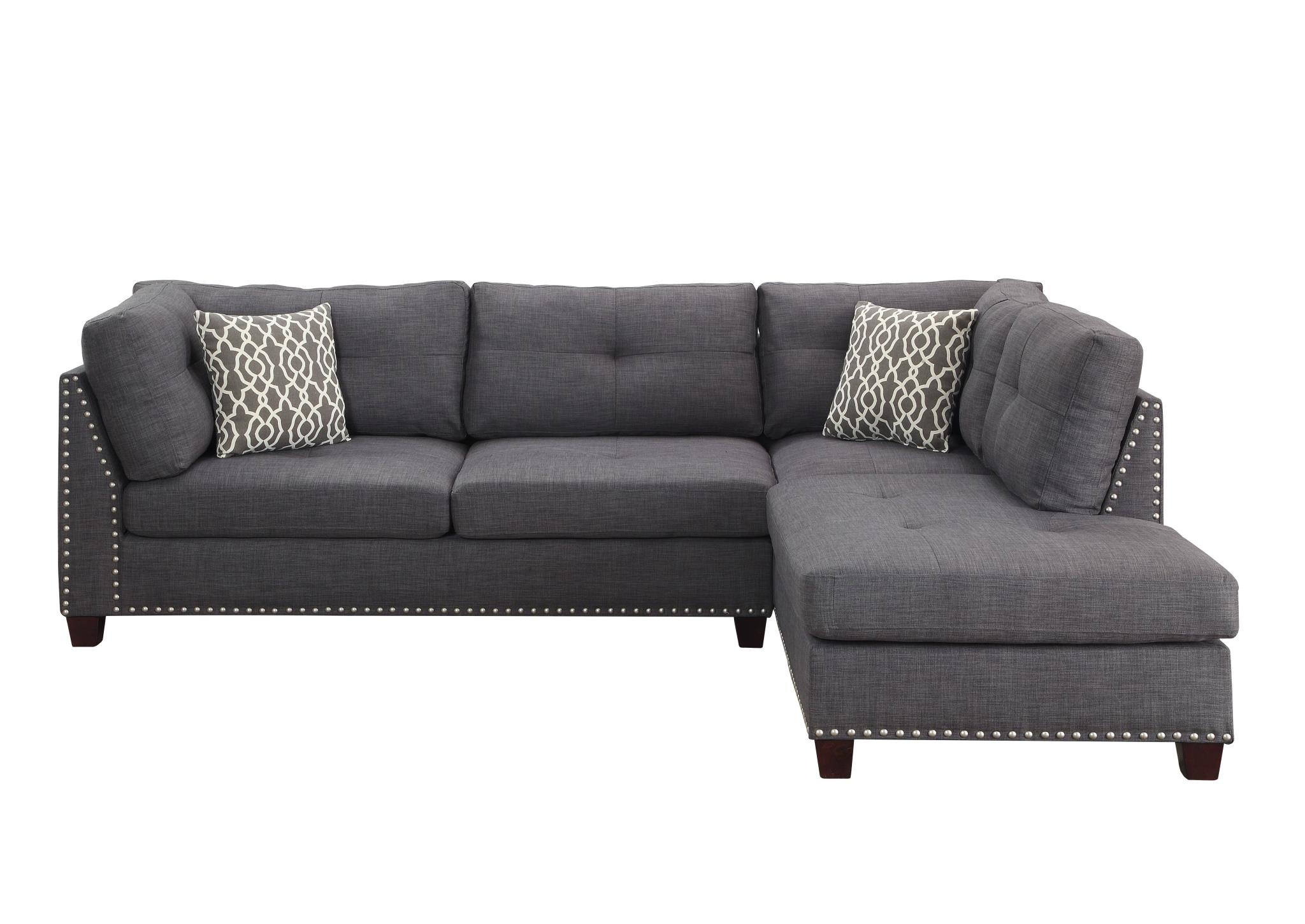 Sectional Sofa w/ Right Facing Chaise Front