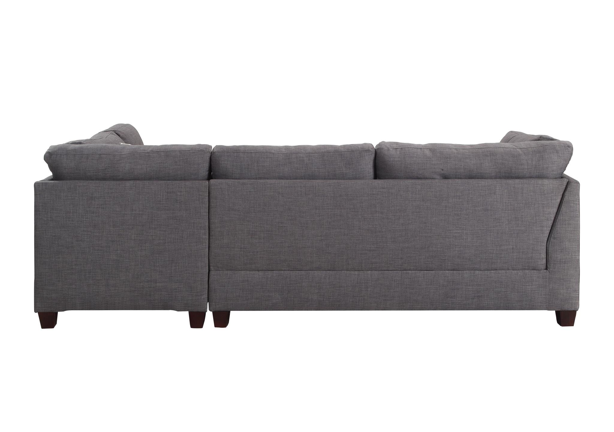 Sectional Sofa w/ Right Facing Chaise Back