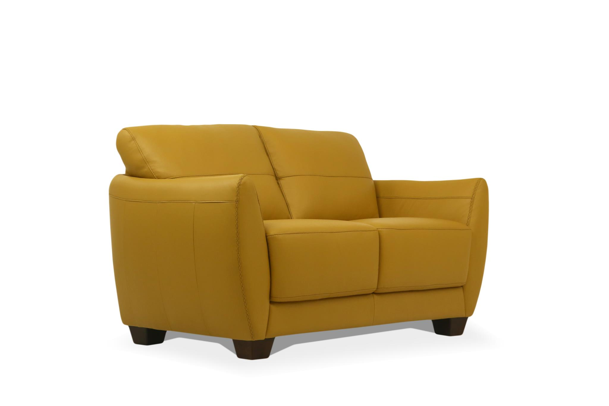 Mustard Loveseat