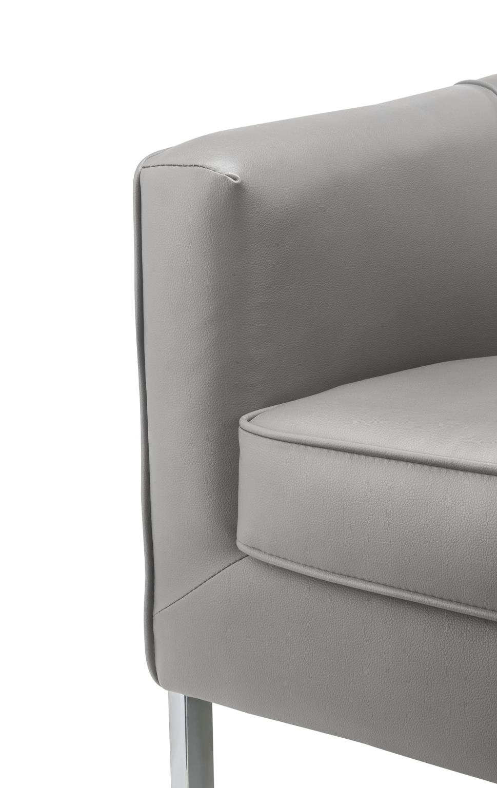 Accent Chair Arm and Seat Cushion Details