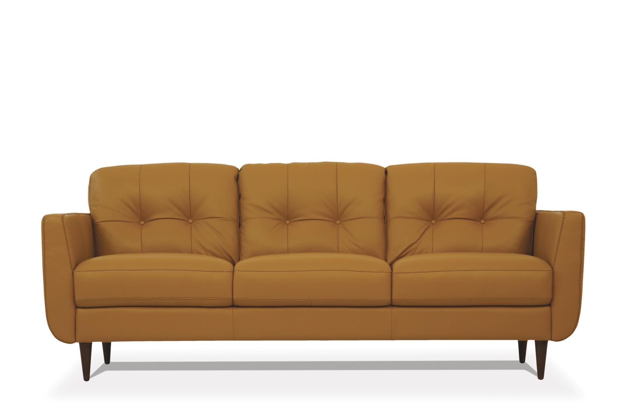 Camel Sofa Front