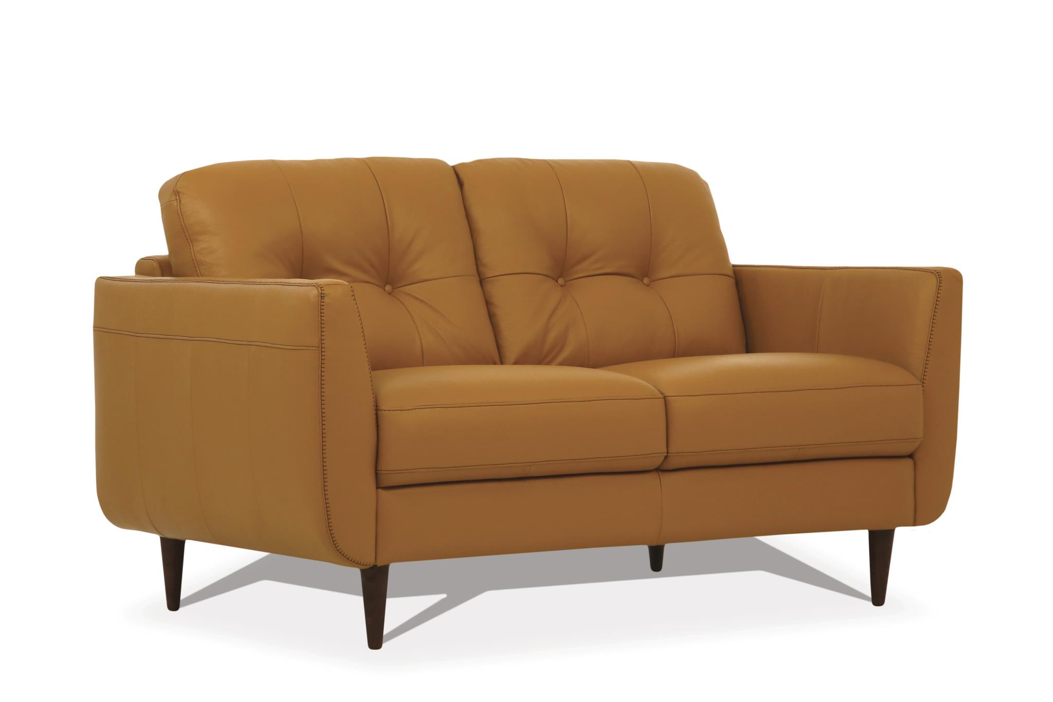 Camel Loveseat