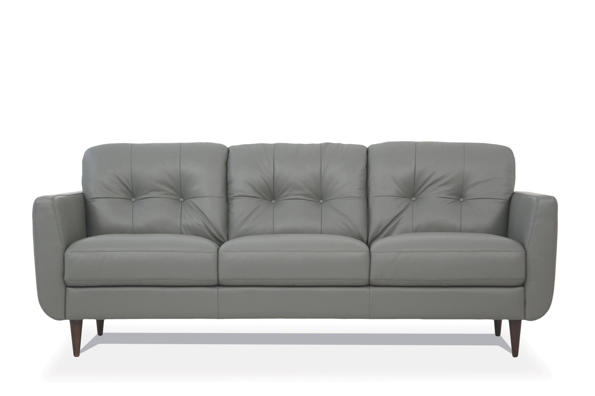 Pesto Green Sofa Front