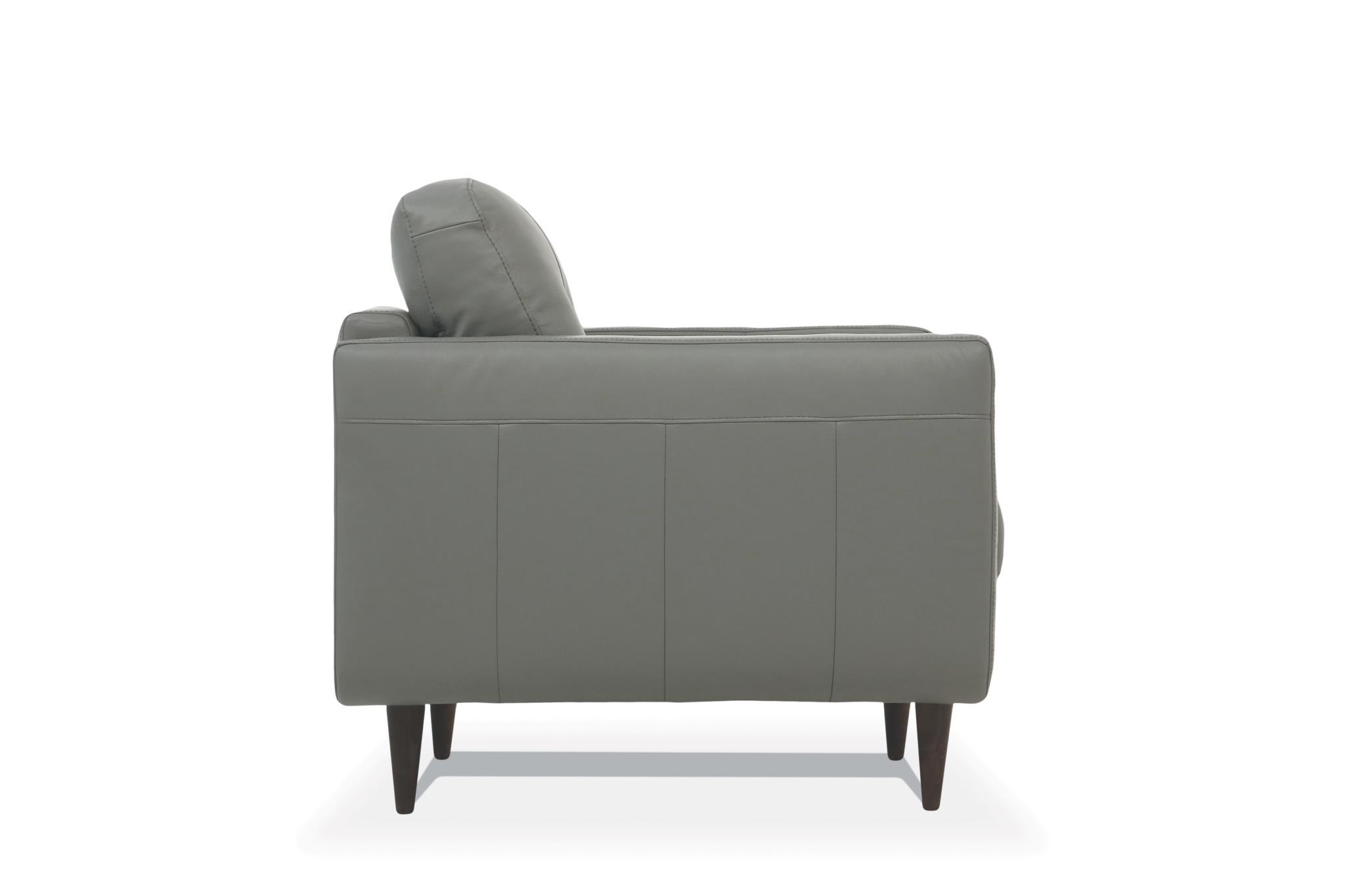 Pesto Green Chair Side