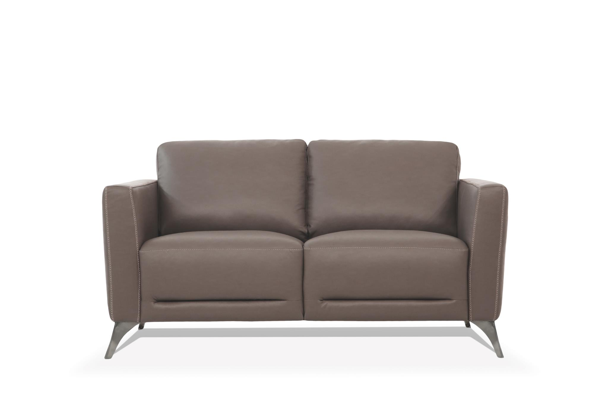 Taupe Loveseat Front
