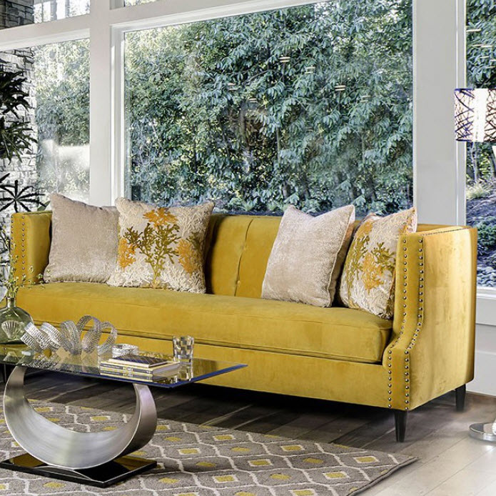 Royal Yellow Sofa