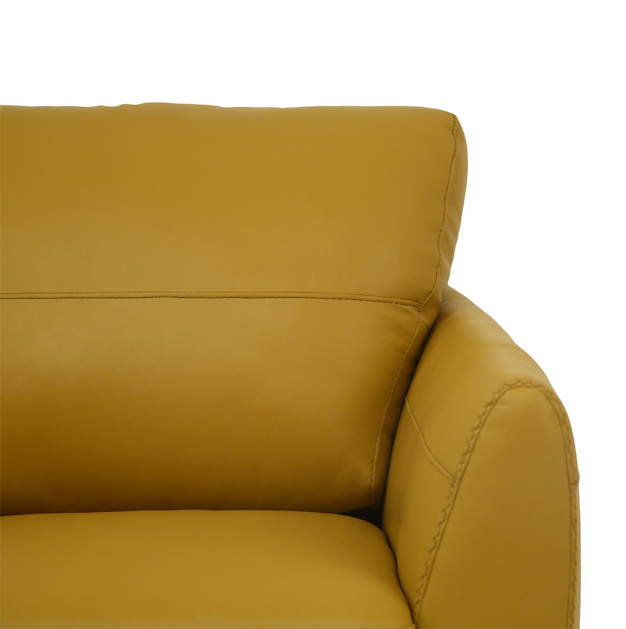 Mustard Armrest Details