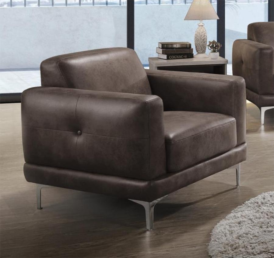 Brown Stone Chair