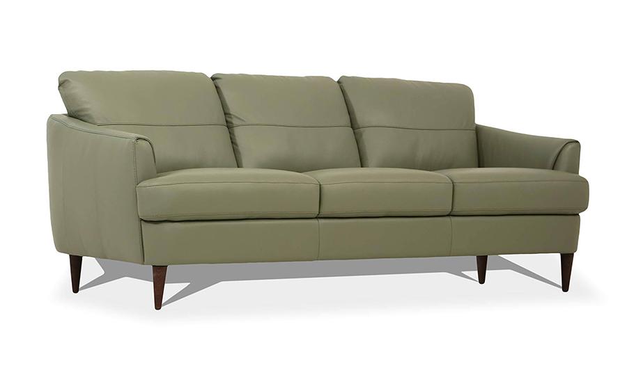 Moss Green Sofa Angle