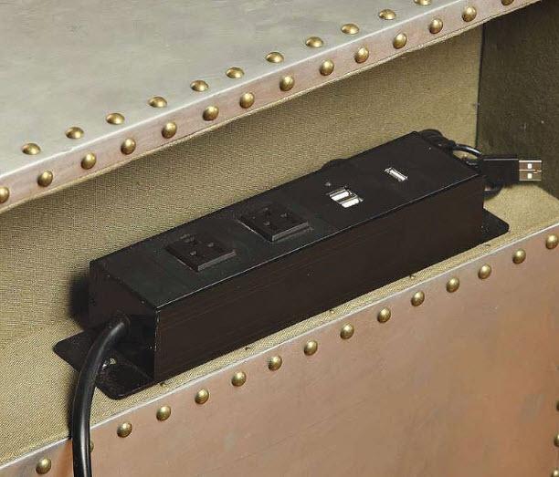 Nightstand USB Power Dock