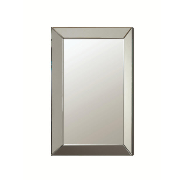 Fine Furniture San Diego :: Home Decor U0026 Accessories :: Mirrors :: Simple  Contemporary Beveled Mirror