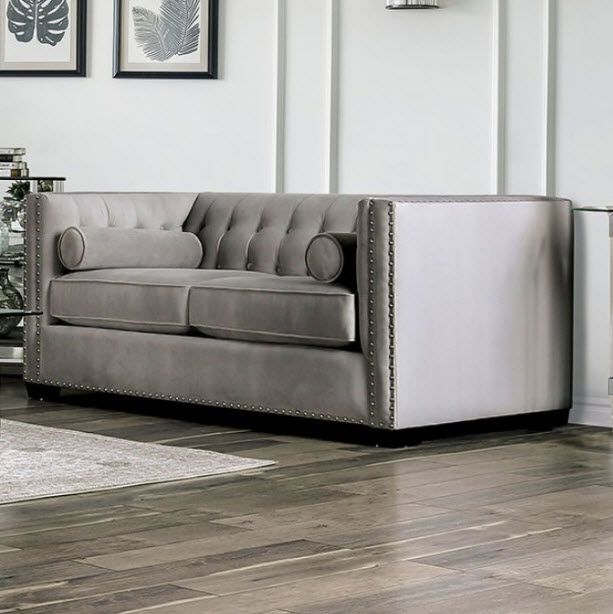 Excellent Elliot Tuxedo Style Loveseat Customarchery Wood Chair Design Ideas Customarcherynet