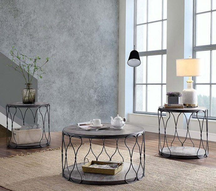 Fantastic Hawdon Twisted Chain Design Coffee Table Ocoug Best Dining Table And Chair Ideas Images Ocougorg