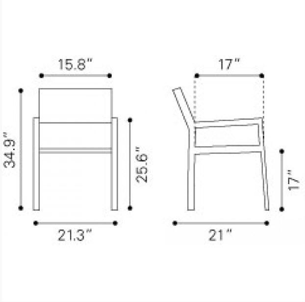 Arm Chair Dimensions