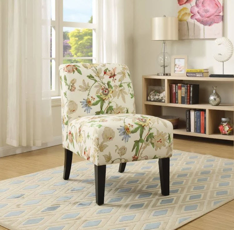 Prime Ollano Floral Accent Chair Lamtechconsult Wood Chair Design Ideas Lamtechconsultcom