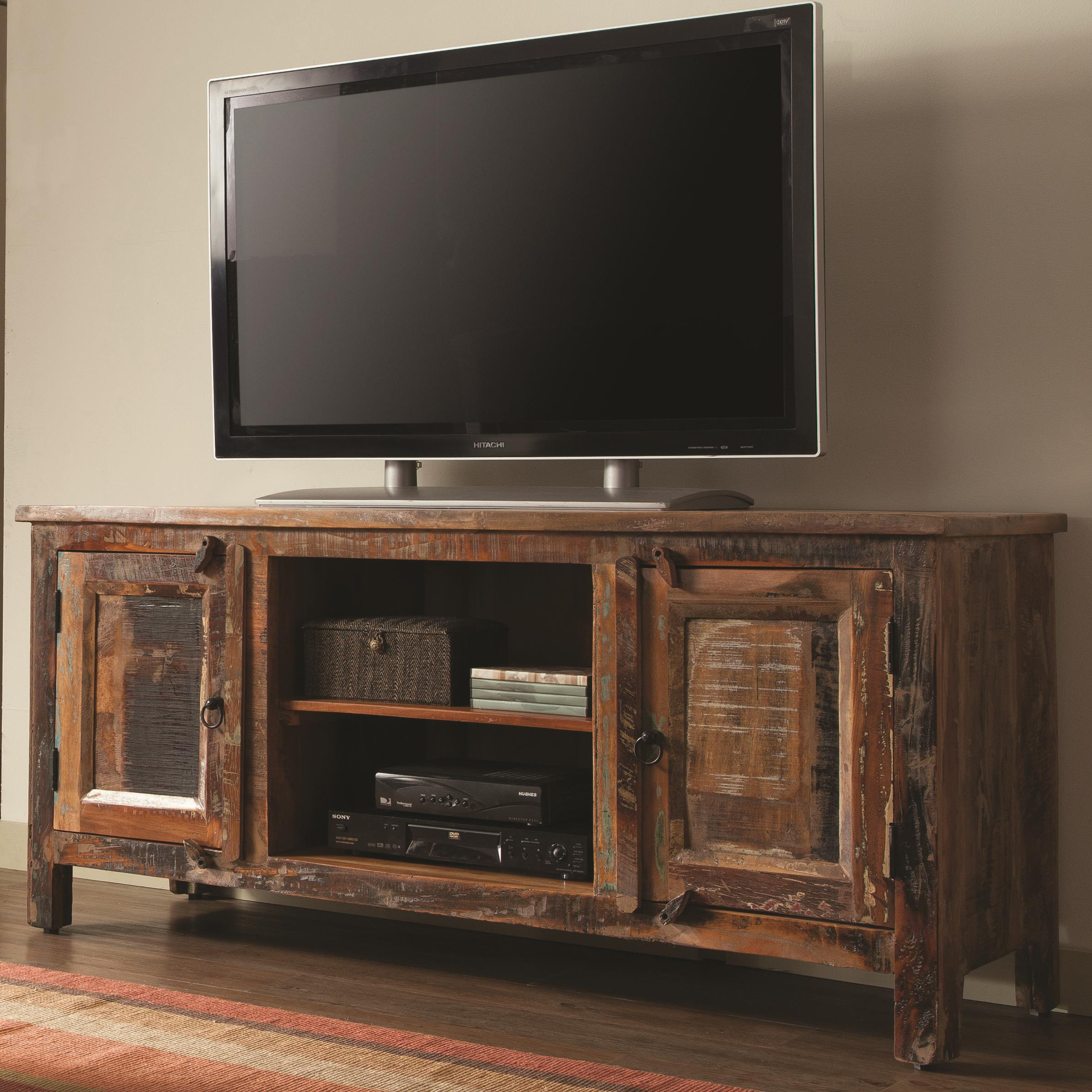 new arrival 8f5e5 dce06 Accent Cabinets Reclaimed Wood TV Stand