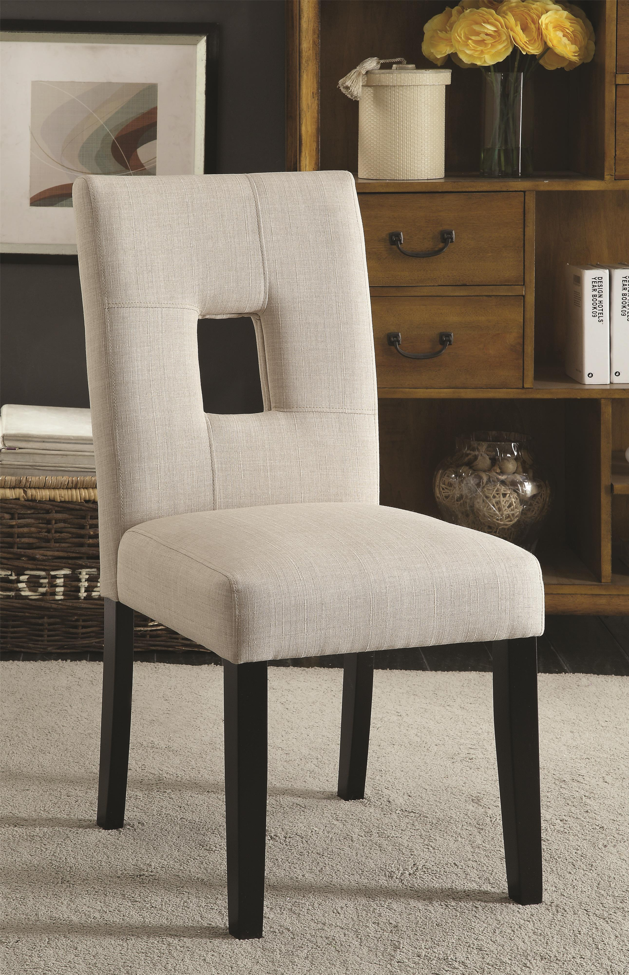 Beige Side Chair