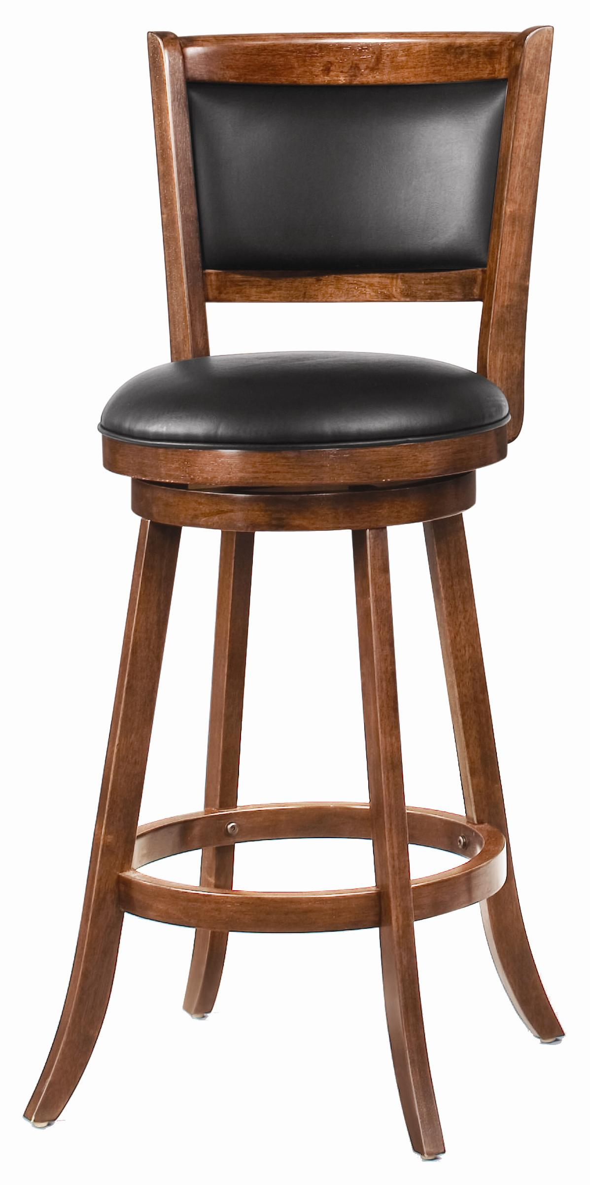 Fabulous Dark Espresso Swivel Bar Stool With Upholstered Seat Set Of 2 Gmtry Best Dining Table And Chair Ideas Images Gmtryco