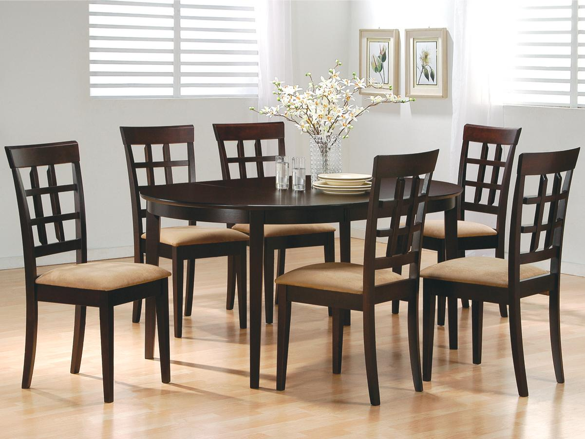 Back Side Dining Table Set