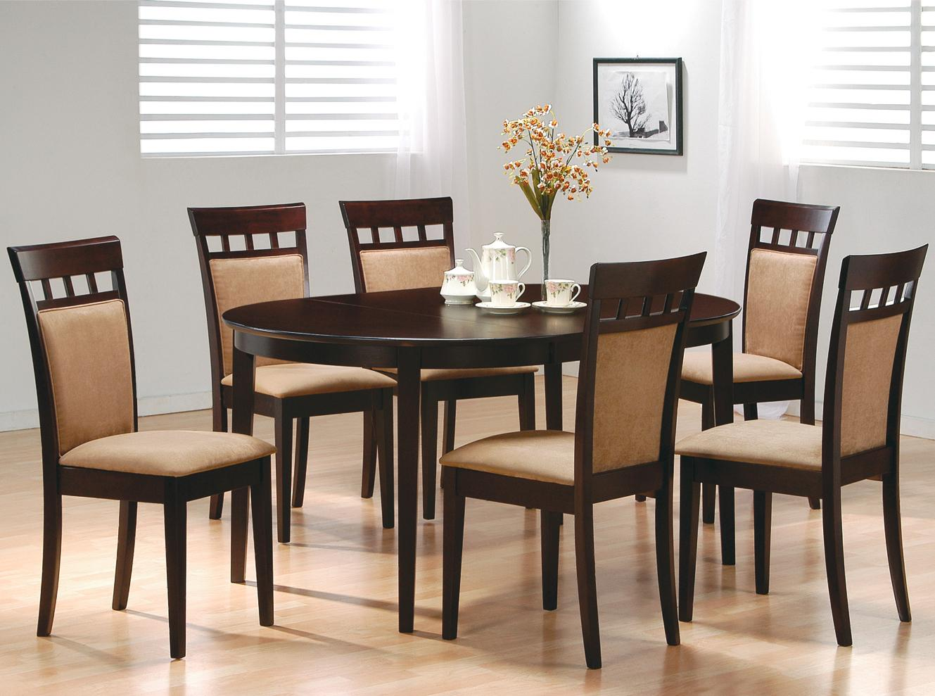Wheat Back Dining Table Set