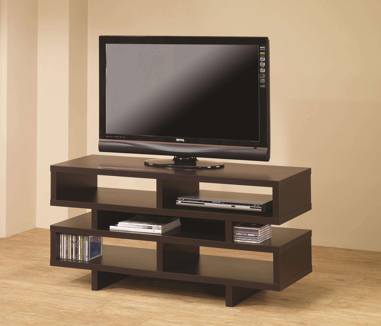 contemporary media console furniture. Cappuccino TV Console Contemporary Media Furniture 0