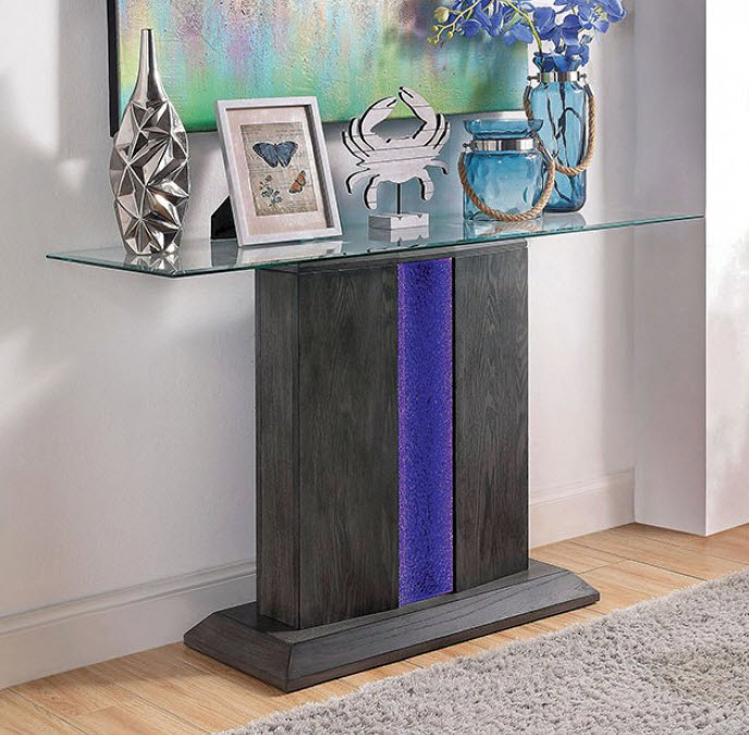 Amazing Rhyl Led Light Sofa Table Gmtry Best Dining Table And Chair Ideas Images Gmtryco