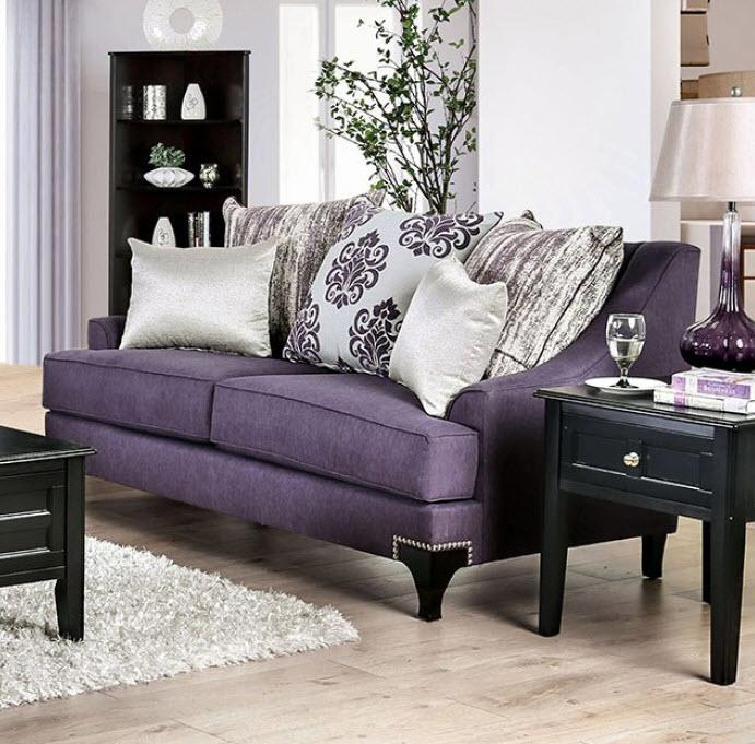 Purple Loveseat