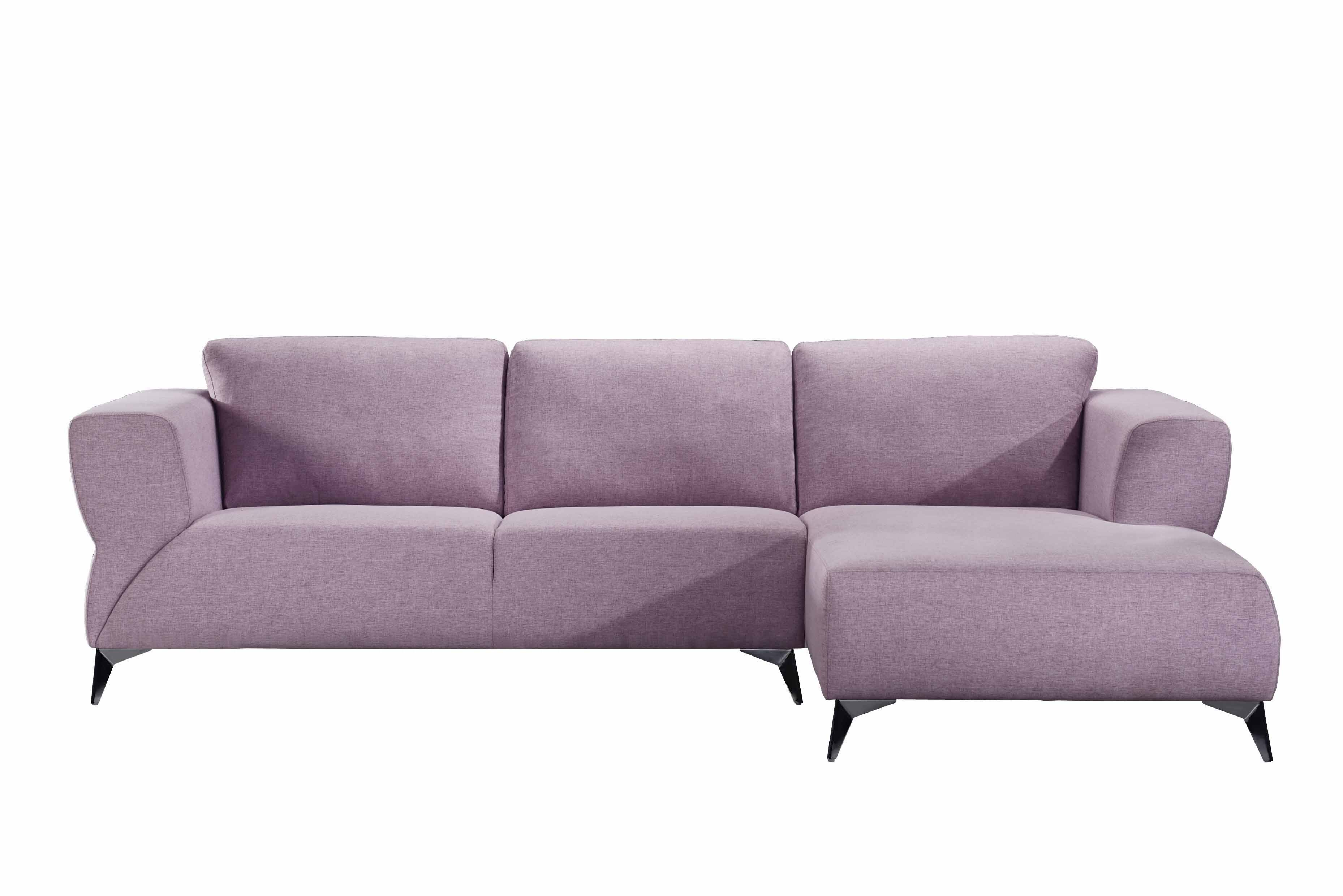 Pale Berries Sectional Sofa Front