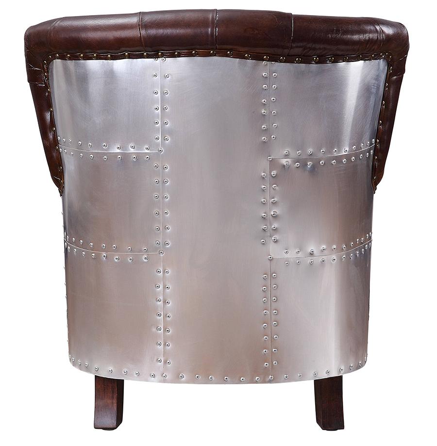 Accent Chair Aluminum Back