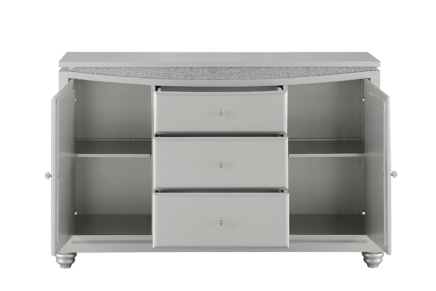 Server w/ Drawers Opened