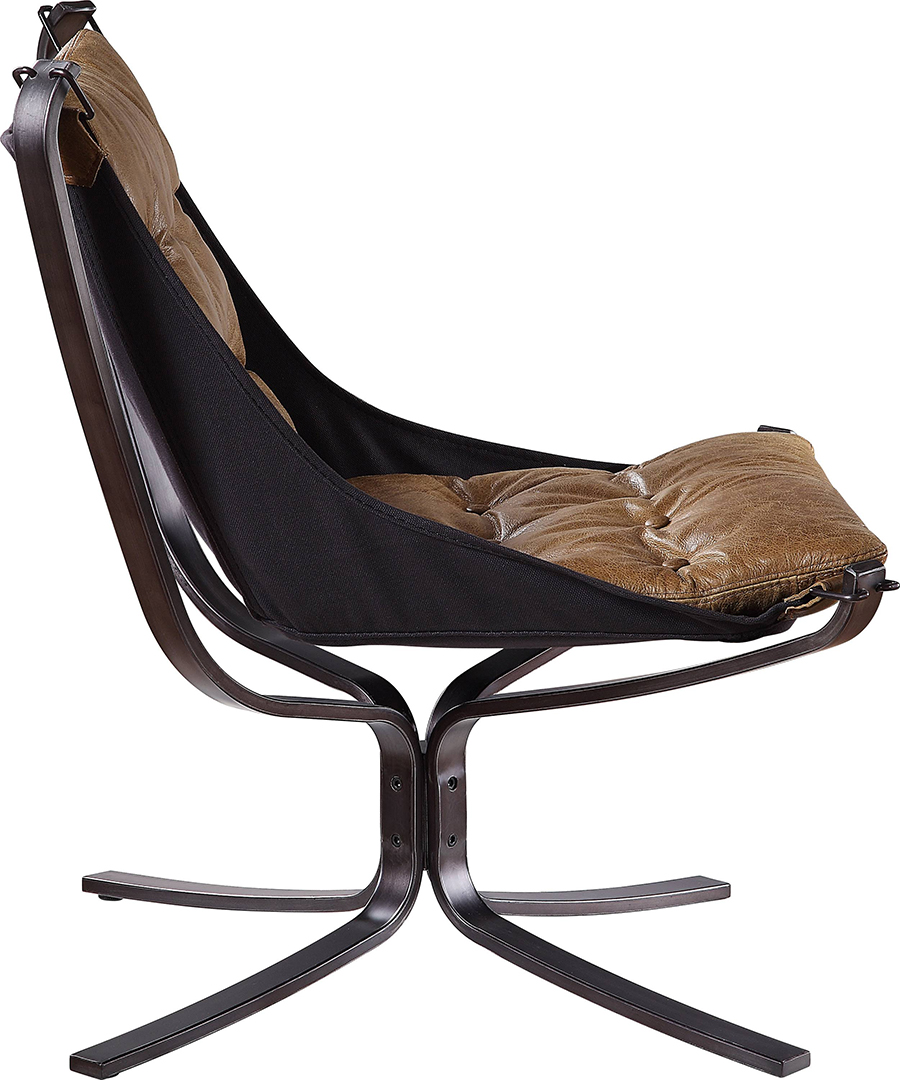 Coffee Accent Chair Side