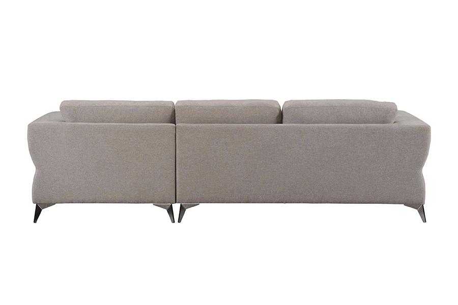 Sand Sectional Sofa Back