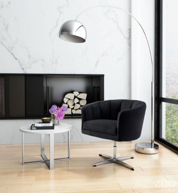 Astounding Wilshire Modern Adjustable Height Swivel Lounge Chair Forskolin Free Trial Chair Design Images Forskolin Free Trialorg