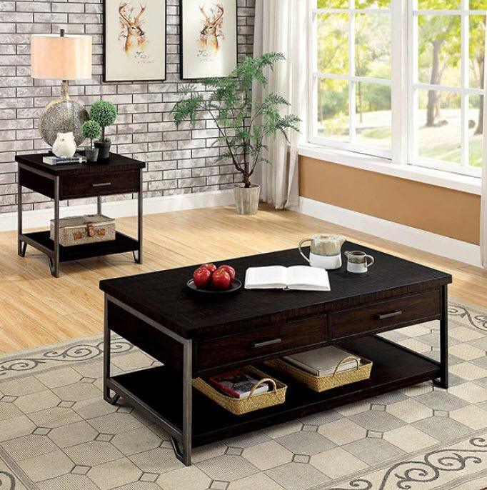 Wasta Dark Oak Style Coffee Table