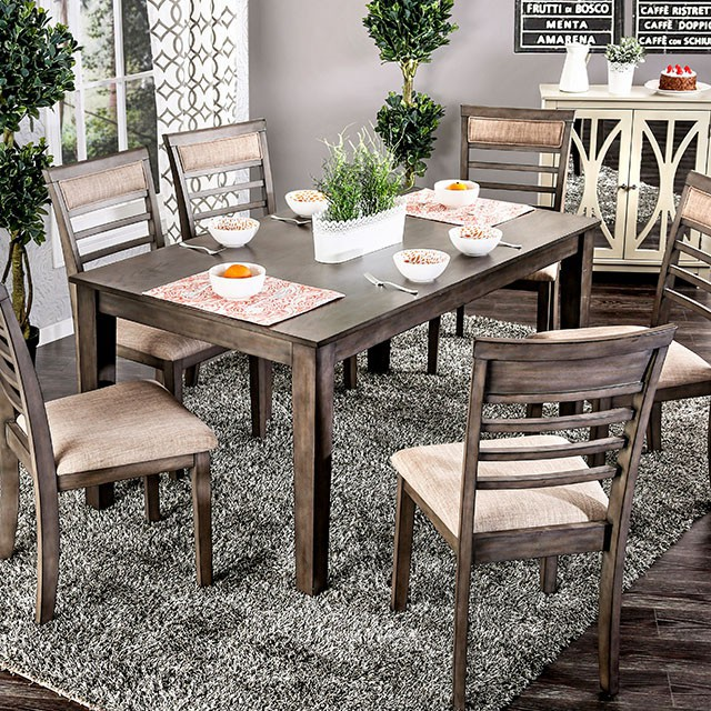 taylah complete 7 piece dining table set