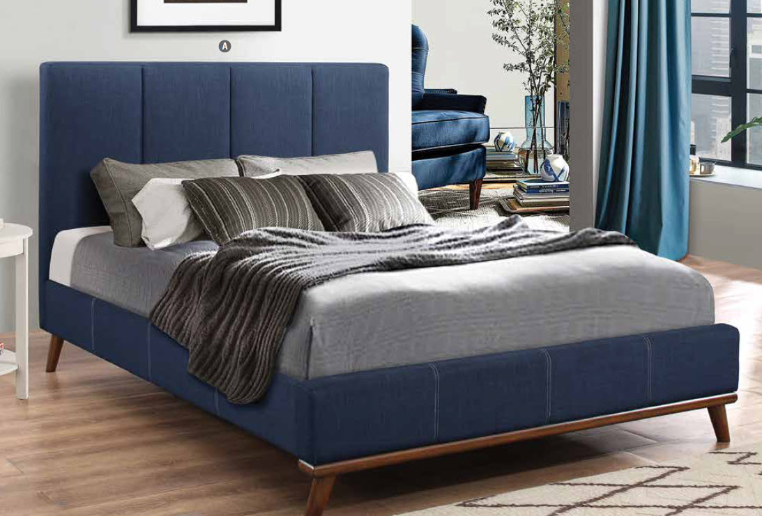 Charity Upholstered Bed 300626