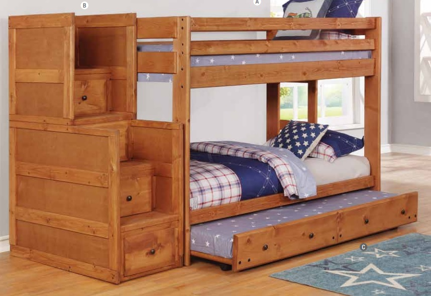 Wrangle Hill Twin Twin Bunk Bed